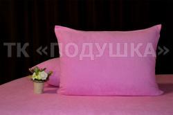Купить розовые махровые наволочки на молнии в Архангельске
