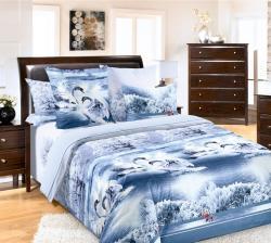 Купить постельное белье из бязи «Лебединое озеро» в Архангельске