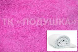Купить розовый махровый пододеяльник  ТМ Подушка в Архангельске